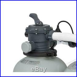 120-Volt Above Ground Sand Filter Pool Pump and Saltwater System