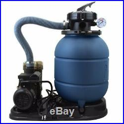 2400GPH 13 Sand Filter. 35 HP Above Ground Swimming Pool Pump intex compatible