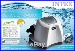 Above-Ground Pool Krystal Clear Saltwater System 15,000 Gal 3-Self-Cleaning Mode