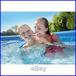 Above Ground Swimming Pool Easy Inflate Set Up 15ft X 48in Filter Pump Ladder