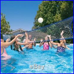 Above Ground Swimming Pool Set and Sand Pump 24' X 12'X 4' Cover Ladder Family