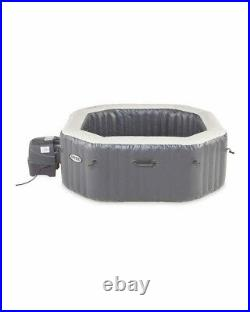 Aldi Intex Inflatable 4 Man Octagon Hot Tub Spa Pool BRAND NEW FREE DELIVERY