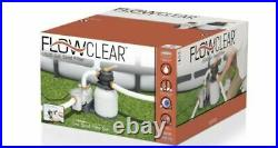 Bestway Flowclear 2200 GPH Above Ground Pool Sand Filter Pump Compared To Intex