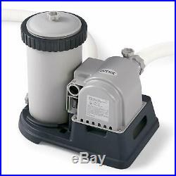 Filter Pump for Above Ground Pools INTEX 28633EG 2500 Gallon GFCI 110-120V NEW