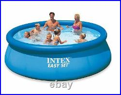 INTEX 12' x 30 Easy Set Above Ground Swimming Pool & Filter Pump Brand New