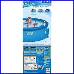 INTEX 15' x 48 Easy Set Swimming Pool Kit with 1000 GFCI Filter Pump (Open Box)