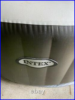 INTEX Purespa 4-Person Inflatable Spa Hot Tub POOL ONLY -No Other Parts. BROWN