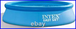 Intex 10 X 30 Easy Set Above Ground Swimming Pool with Filter Pump