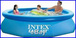 Intex 10 ft X 30 in Easy Set Pool Set with Filter Pump New In Box SHIPS NOW
