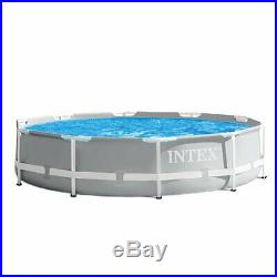 Intex 10' x 30 Above Ground Swimming Pool with 330 GPH Filter Pump & Pool Ladder