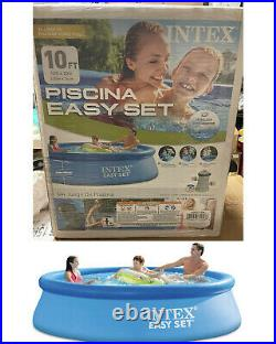 Intex 10 x 30 Easy Set Above Ground Swimming Pool w FILTER & PUMP SHIP NOW