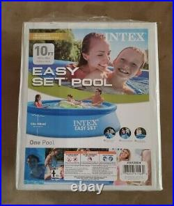 Intex 10ft X 30in Easy Set Above Ground Swimming Pool No Pump