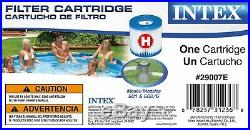 Intex 10ft x 30in Metal Frame Above Ground Pool Set with 330 GPH Pump & Filters