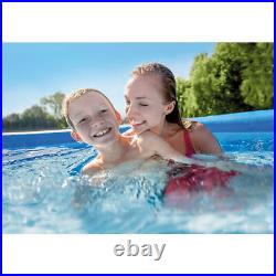 Intex 12 ft x 30 in Easy Set Above Ground Swimming Pool & Filter Pump, 28131EH