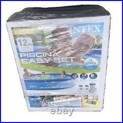 Intex 12ft X 30in Easy Set Pool Set with Filter Pump (12'x30) READY TO SHIP NEW