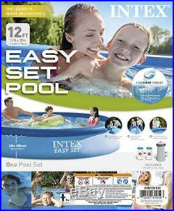 Intex 12ft X 30in Easy Set Pool Set with Filter Pump Make a splash all summer