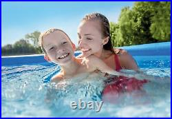 Intex 12ft x 30in Easy Set Inflatable Above Ground Pool with Filter Pump (2 Pack)