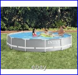 Intex 12ft x 30in Prism Frame Above Ground Pool (No Pump) IN HAND SHIPS NOW