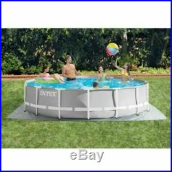 Intex 14 ft x 42 in 26719EH Prism Frame Swimming Pool with Pump + Ladder + Cover