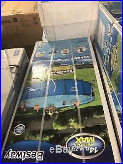 Intex 14ft X 4.5ft Prism Frame Pool Set With Filter Pump. Se Cambia Por Octagona