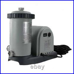 Intex 1500 GPH Easy Set Pool Filter Pump withTimer & GFCI 28635EG (For Parts)