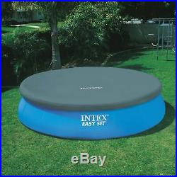 Intex 15'x42 Inflatable Easy Set Above Ground Pool with Ladder & Pump (Open Box)
