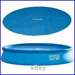 Intex 15' x 33 Above Ground Swimming Pool, Filter Pump and Vinyl Solar Cover