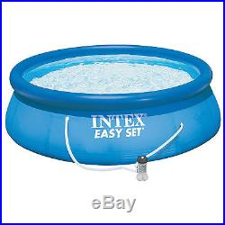 Intex 15' x 42 Easy Set Swimming Pool Complete Kit with 1000 GPH Filter Pump