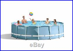 Intex 15' x 42 Prism Frame Swimming Pool Set with 1000 GPH Pump 26733EH