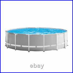 Intex 15ft x 15ft x 48in Above Ground Pool Set & Filter Pump Cartridge(6 Pack)