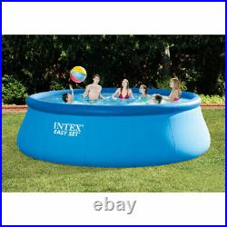 Intex 15ft x 48in Easy Set Swimming Pool Kit with 1000 GPH GFCI Filter Pump