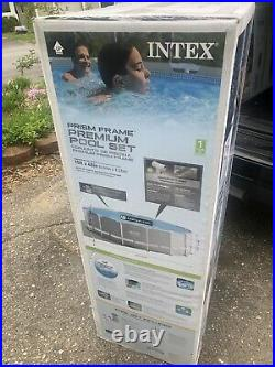 Intex 15ft x 48in Prism Above Ground Swimming Pool Set FREE OVERNIGHT SHIPPING