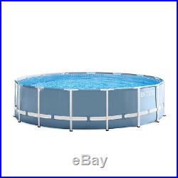 Intex 16'x 48 Prism Frame Above Ground Pool with Filter Pump
