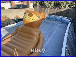 Intex 16ft 6in X 9ft X 48in Prism Frame Oval Above Ground Pool Set-Pre Owned
