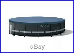 Intex 16ft X 48in Ultra XTR Frame Above Ground Pool Set With Sand Filter Pump