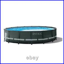 Intex 16ft x 48in Ultra XTR Round Frame Above Ground Pool, Pump, & Cleaning Kit