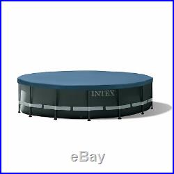 Intex 16ftx48in Ultra XTR Frame Above Ground Swimming Pool Set with Pump (Used)