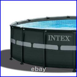 Intex 18Ft x 52In Ultra XTR Frame Round Above Ground Pool with Pump (For Parts)