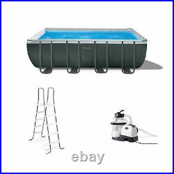 Intex 18Ft x 52In Ultra XTR Frame Swimming Pool Set withPump Filter (For Parts)