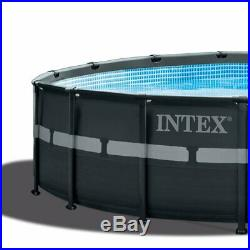 Intex 18'x52 Ultra XTRA Frame Above Ground Pool with Pump & Chemical Cleaning Kit