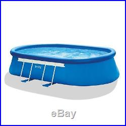 Intex 18 x 10 x 42 Inches Oval Frame Pool Easy Set with 1000 GPH Filter Pump