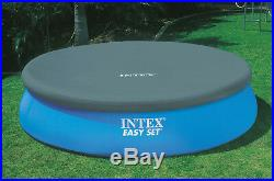 Intex 18' x 48 Inflatable Above Ground Swimming Pool with Ladder, Pump & Cover