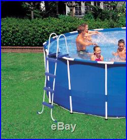 Intex 18' x 4' Frame Above Ground Pool with Pump, Ladder, Cover, & Winterizing Kit