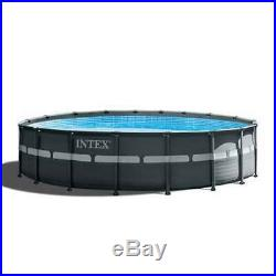 Intex 18' x 52 Ultra XTRA Frame Above Ground Swimming Pool Set, Pump (Open Box)