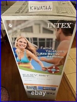Intex 18ft x 48in Easy Set Above Ground Pool with Pump & Cover