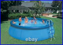 Intex 18ft x 48in Inflatable Easy Set Pool with Ladder, Pump, & Winterizing Kit