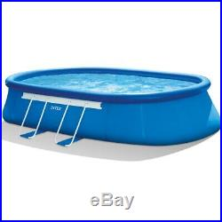 Intex 20' x 12' x 48 Oval Frame Above Ground Swimming Pool with Filter Pump