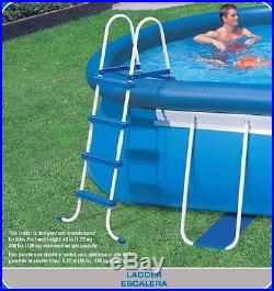 Intex 20' x 12' x 48 Oval Frame Swimming Pool Set with 1500 GPH Filter Pump
