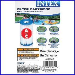 Intex 20' x 48 Ultra Frame Steel Above Ground Swimming Pool Set with Pump Filters