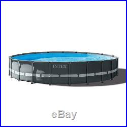 Intex 20' x 48 Ultra XTR Frame Above Ground Swimming Pool Set with Pump & Ladder